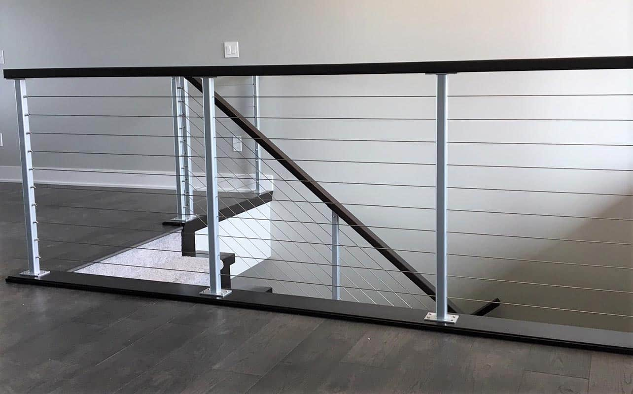 Stainless Steel Cable Deck Railings Modern Deck Railings