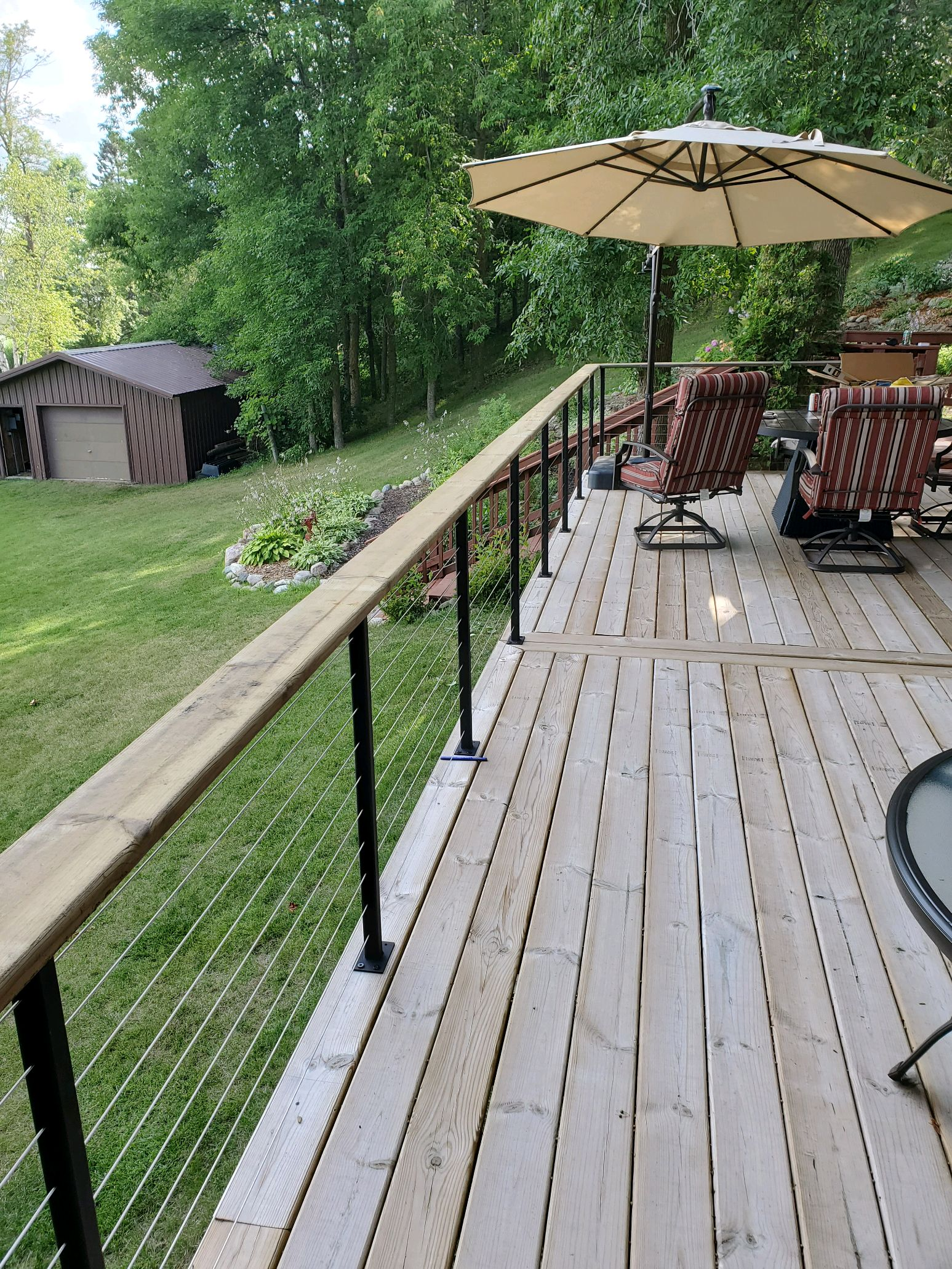Image of: Cable Deck Railing Wire Railing Mailahn Innovation